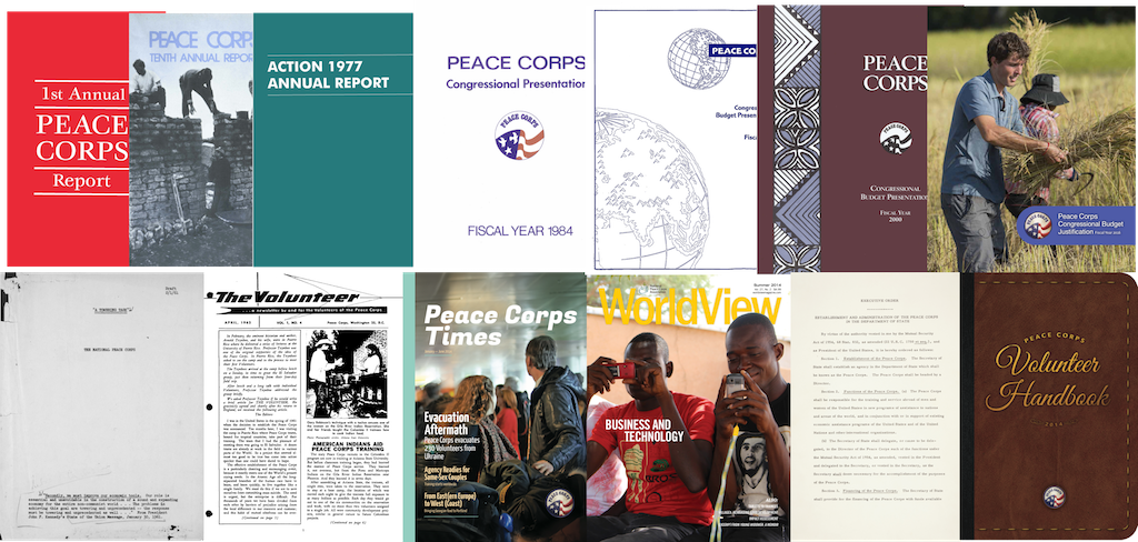 Peace Corps Vault cover collage