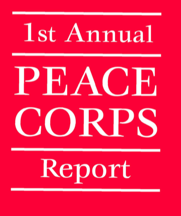 1961 Peace Corps Annual Report Cover